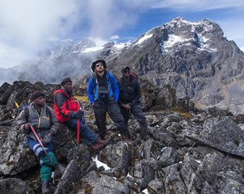 Hiking Mount Rwenzori