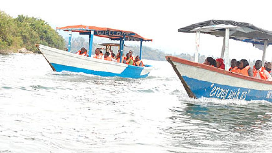 Tourism on lake Kivu