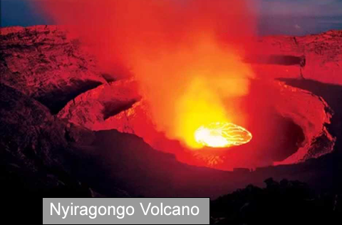 Active Volcanoes in Africa
