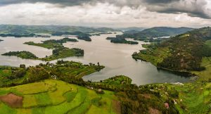 Views of Lake Bunyonyi in Kabale